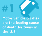#1 Cause of Teenage Driver deaths