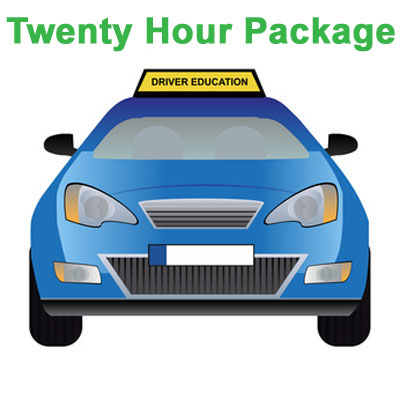 Twenty Hour Package - Behind the Wheel Training