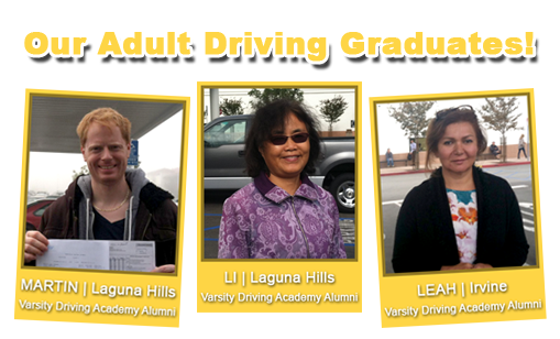Adults Drivers Education with Varsity Driving Academy