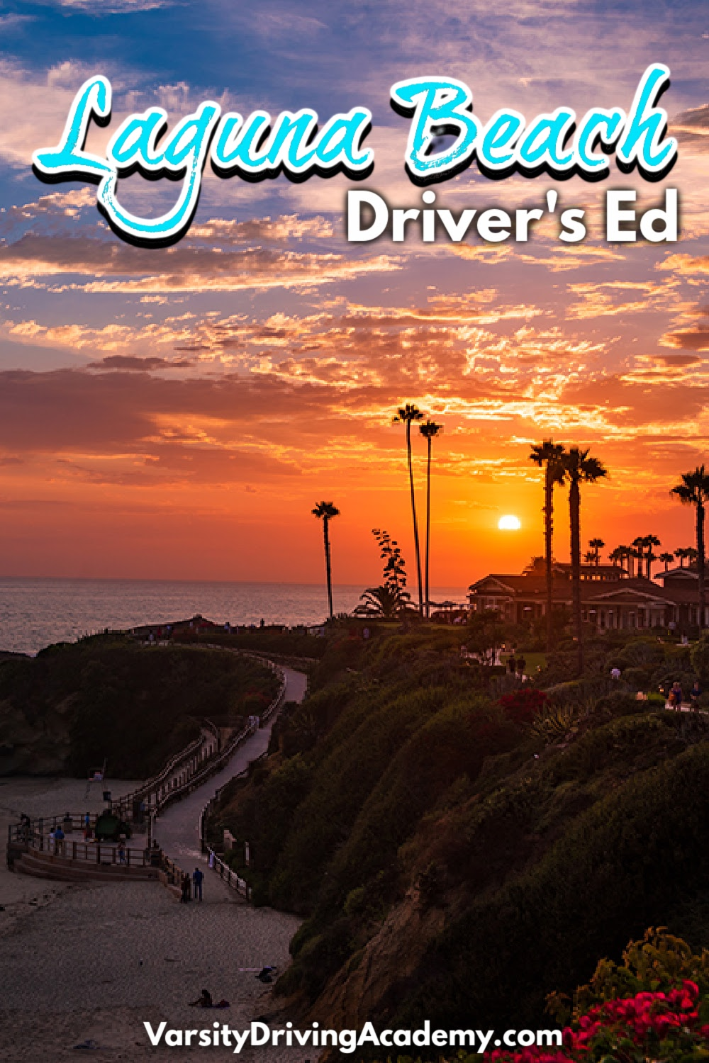 Varsity Driving Academy is the best Laguna Beach drivers ed for teens and adults who want to learn how to drive safely and defensively.