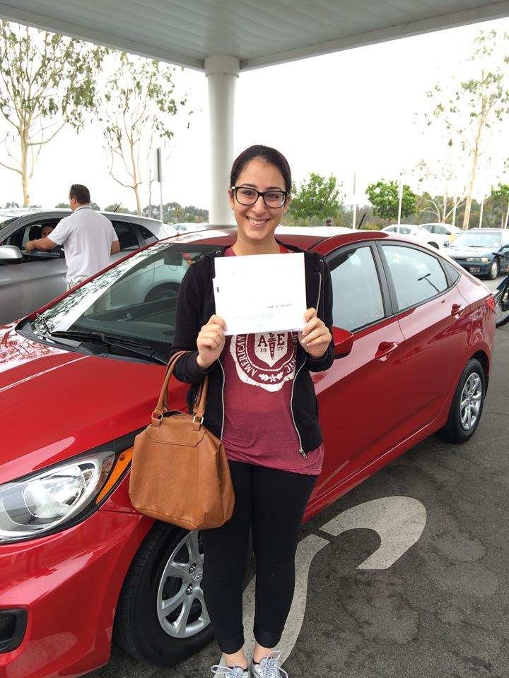 Irvine High School Graduate from Varsity Driving Academy