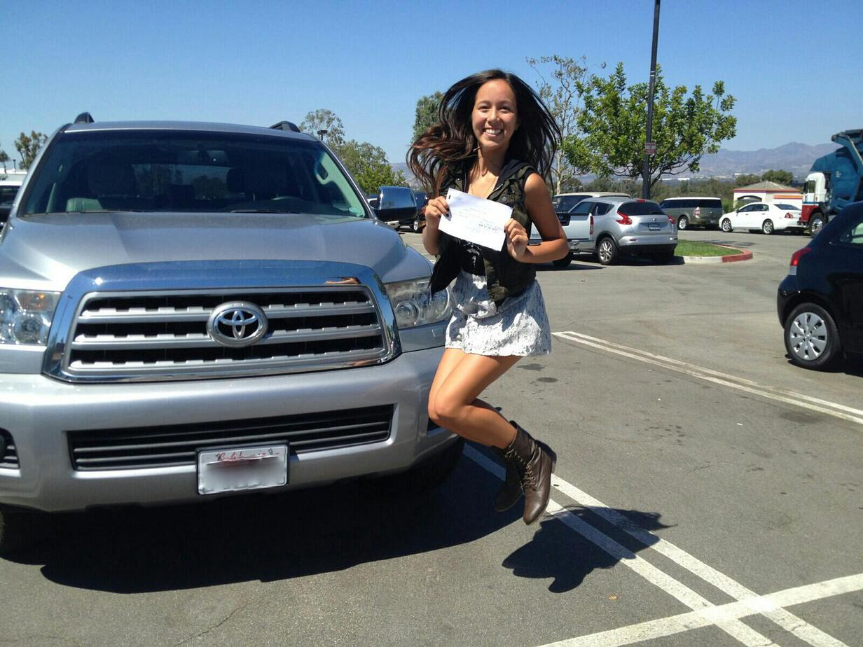 University High School Student Passes Drivers Test