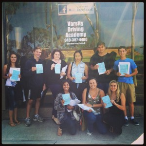 Congratulations to the Summer Session for in class drivers education at Varsity Driving Academy