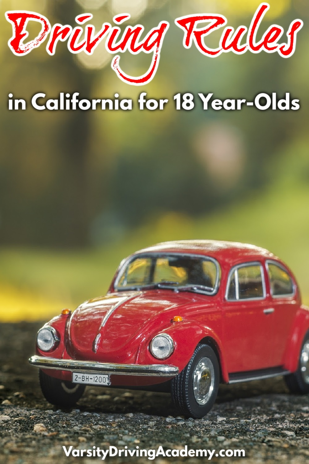 Many of the California driving rules for 18 year olds give a new sense of freedom and responsibility to teens and parents alike.
