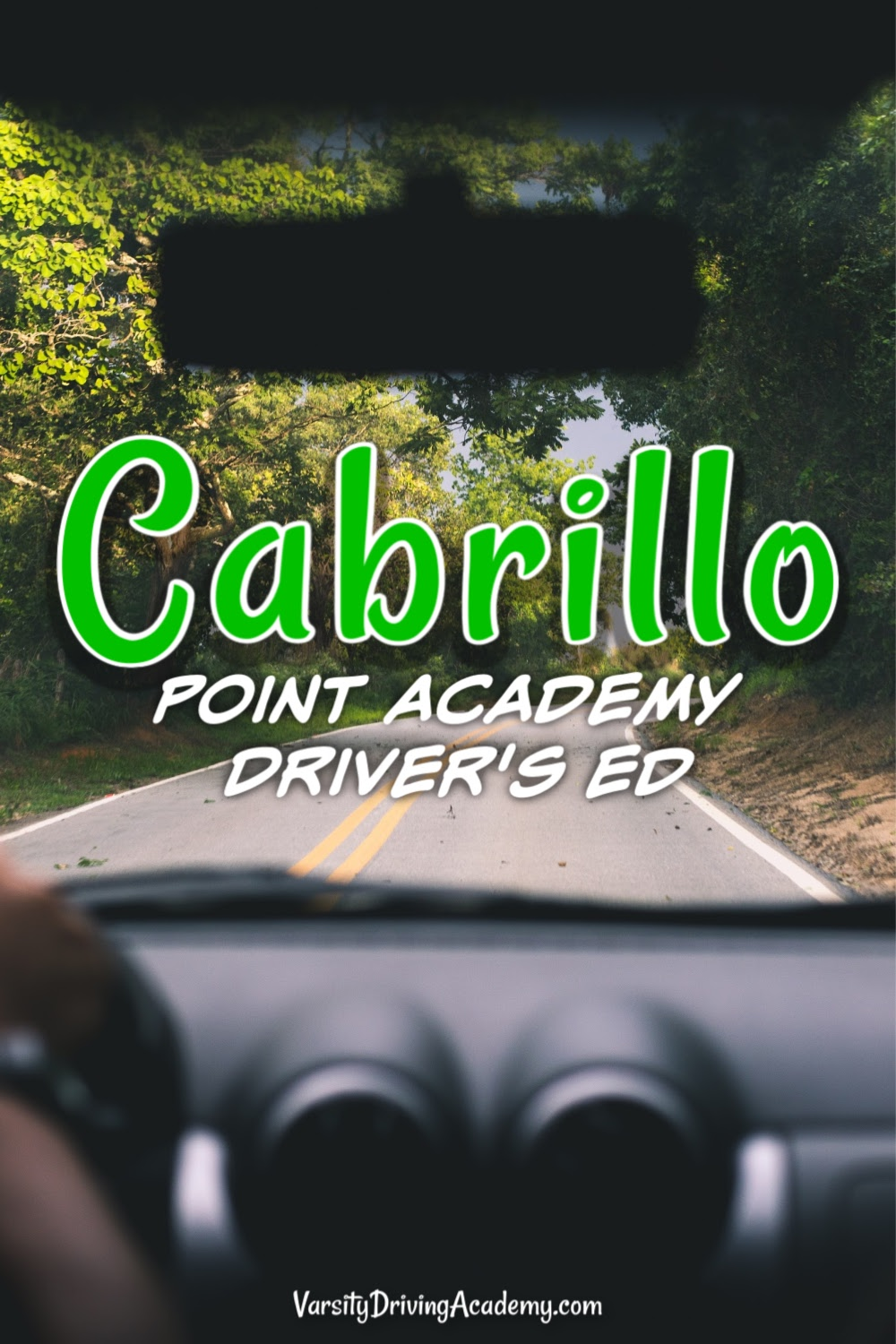 Varsity Driving Academy offers the best Cabrillo Point Academy driver's ed in Orange County teaching defensive driving and being the top-rated driving school.