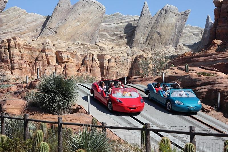 Where to Practice Driving in Anaheim Disneyland Park