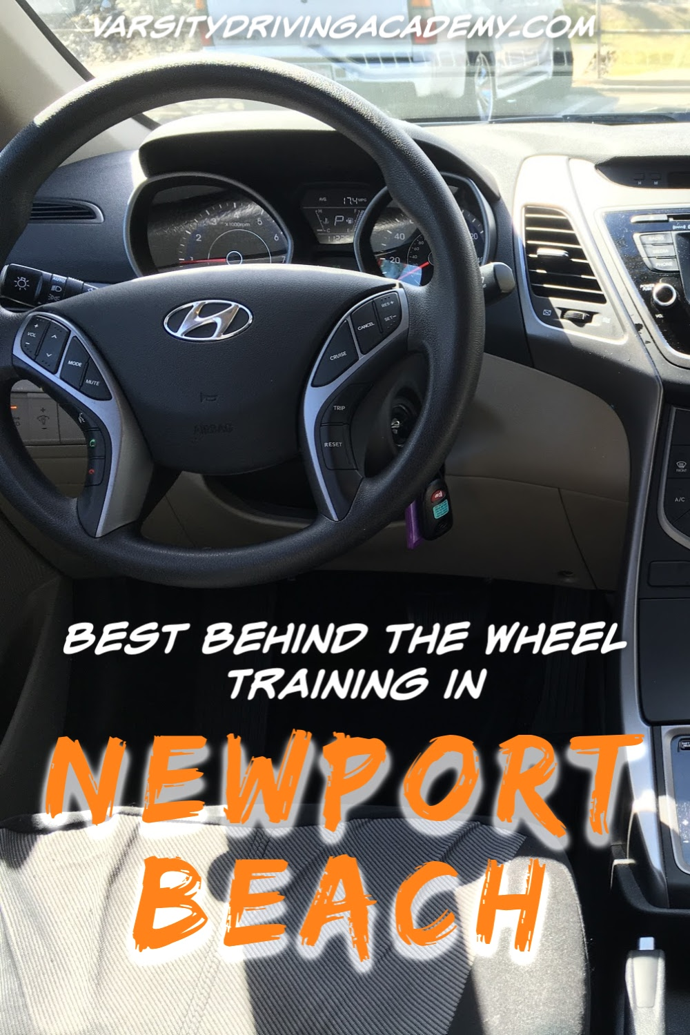 You can sign up for the best Newport Beach behind the wheel training with Varsity Driving Academy and learn how to drive safely.