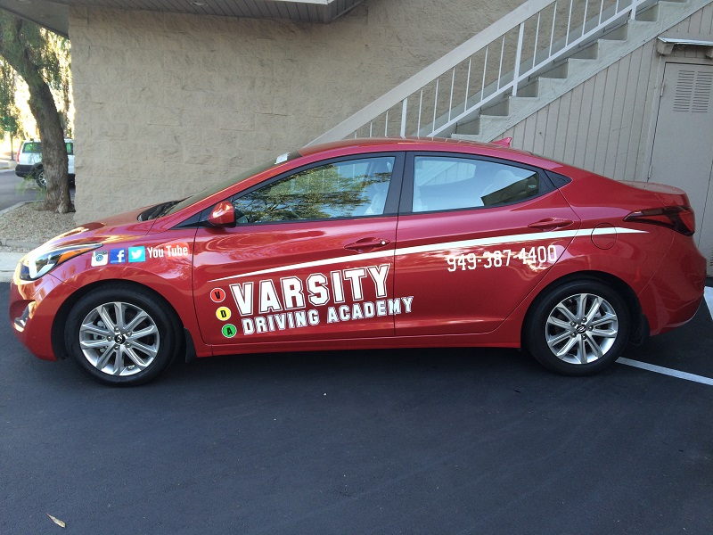 Dana Point Behind the Wheel Training and Driving Test Vehicle
