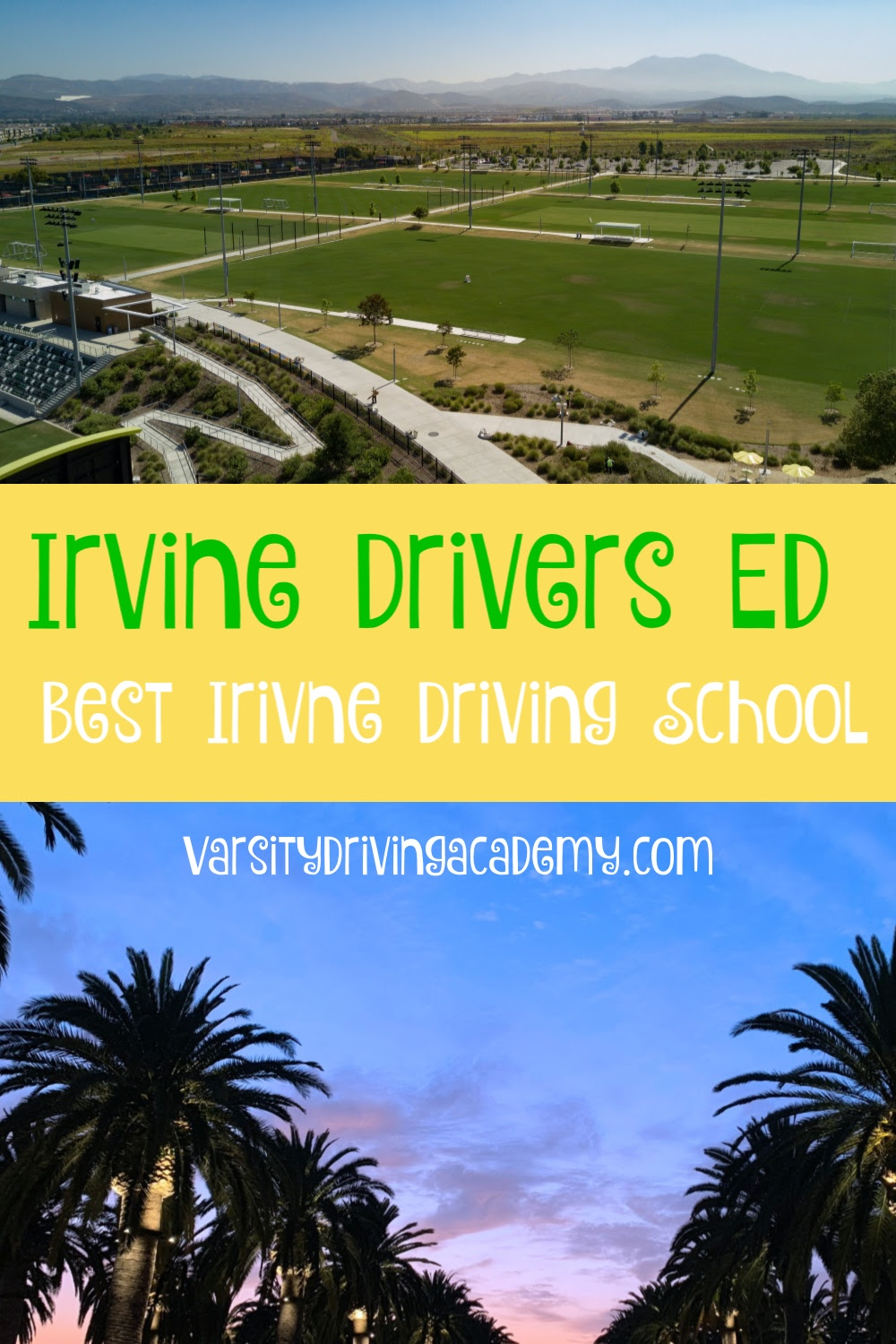 Varsity Driving Academy is the best Irvine drivers ed option for teens and adults to learn how to drive safely and get the best Irvine driving school experience available.