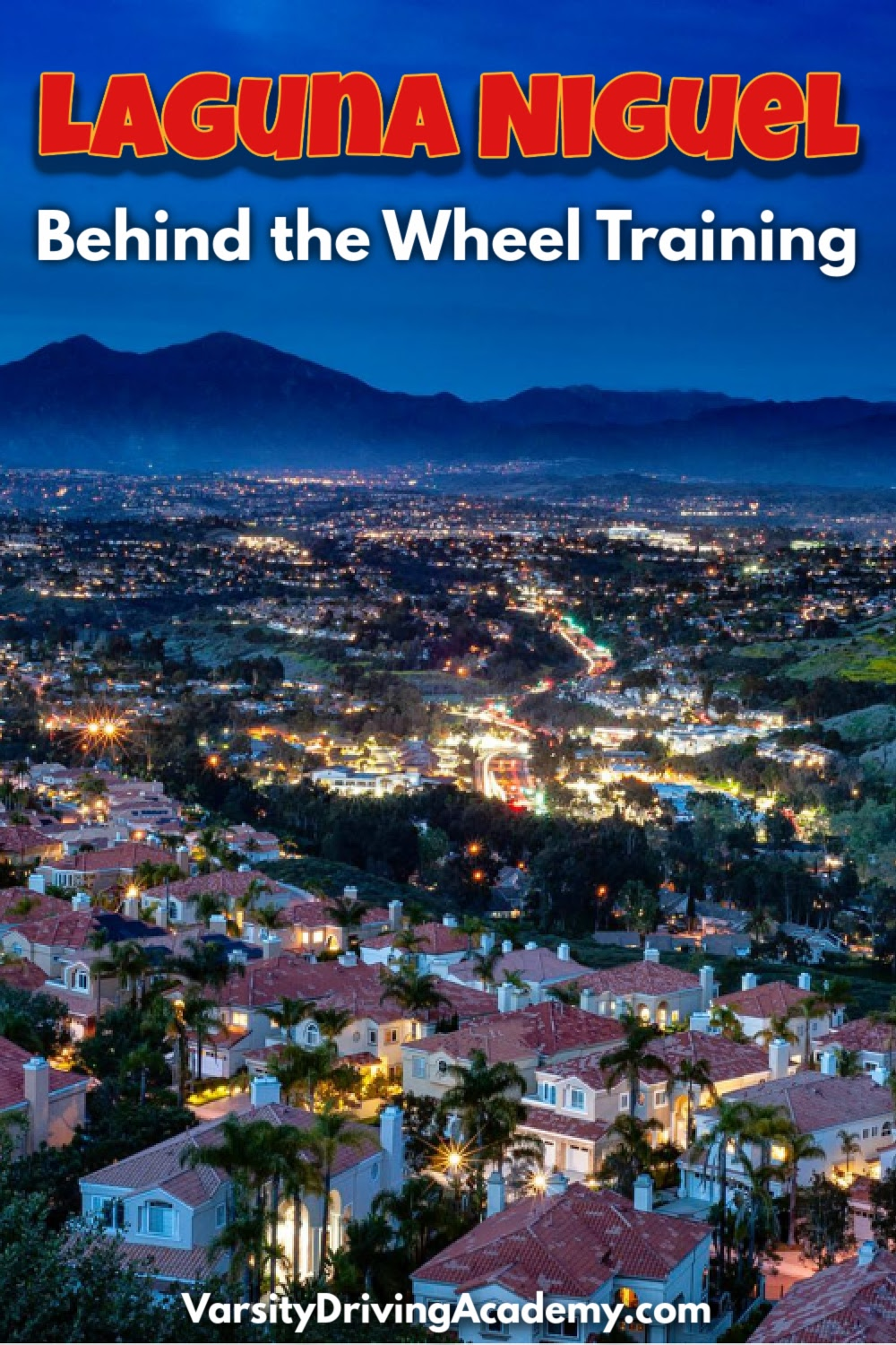 The best Laguna Niguel behind the wheel training teaches students how to drive in California as well as how to stay as safe as possible.