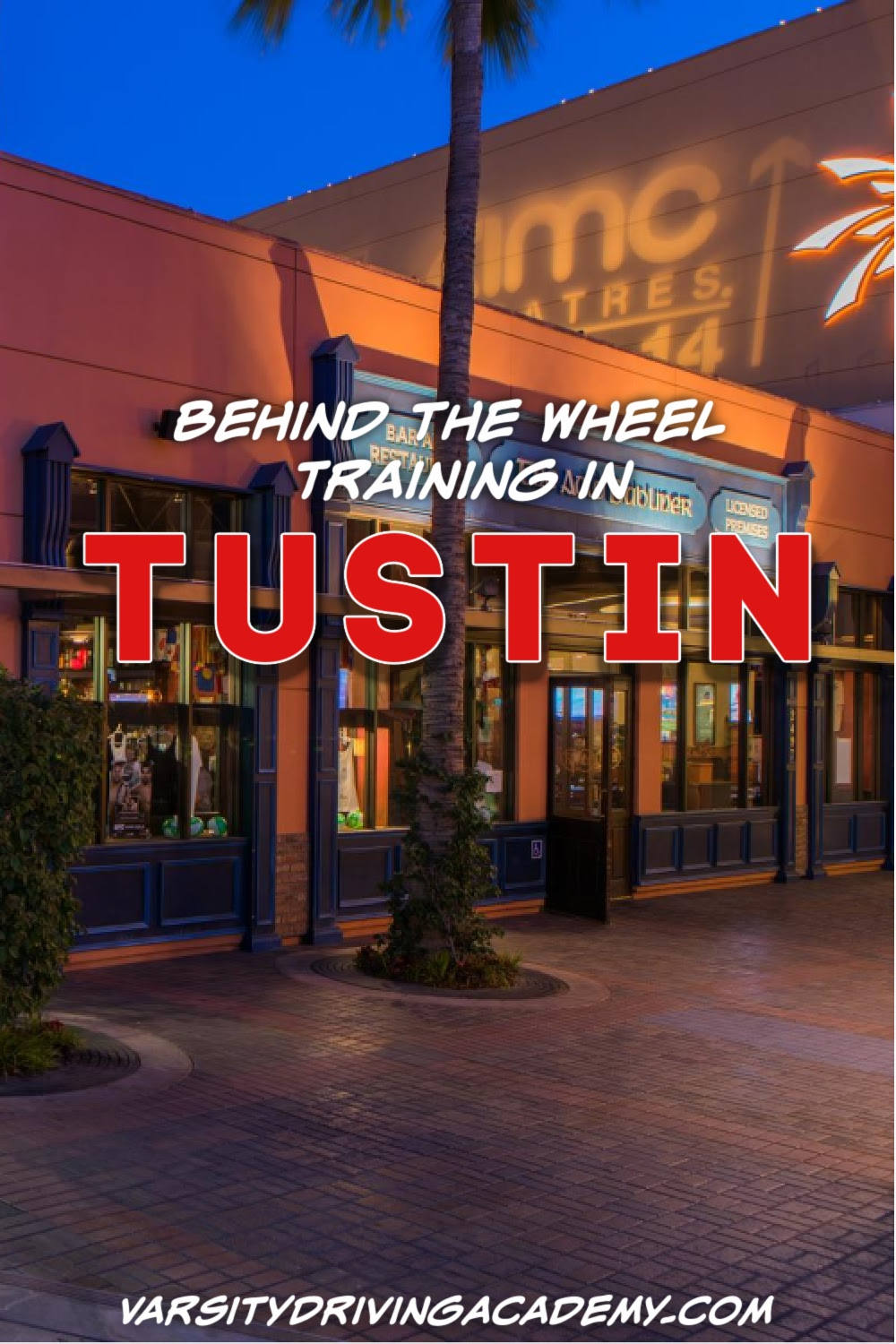 Varsity Driving Academy is the #1 Tustin behind the wheel driving school providing driving lessons with trained instructors so you can pass your Tustin DMV test the first time!