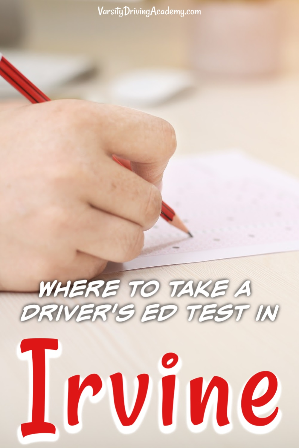 Knowing where to take drivers ed test in Irvine is important as you can not get your license until you pass both of the driving tests in Irvine.