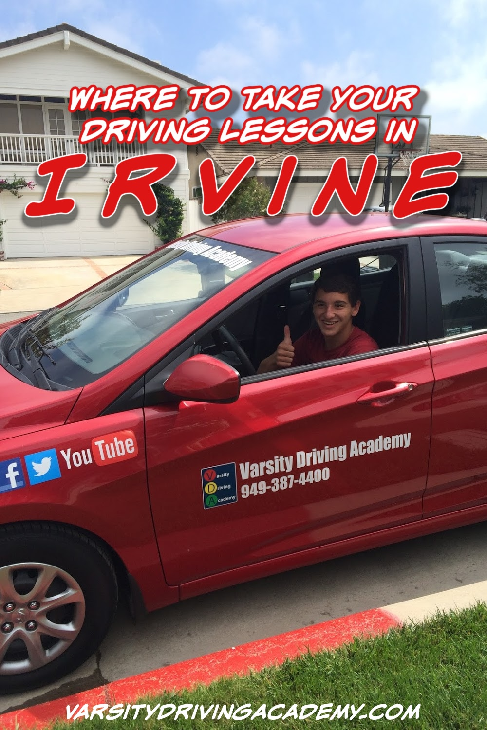 Varsity Driving Academy offers the best Irvine driving lessons for teens and adults who want or need to pass through Irvine drivers ed.