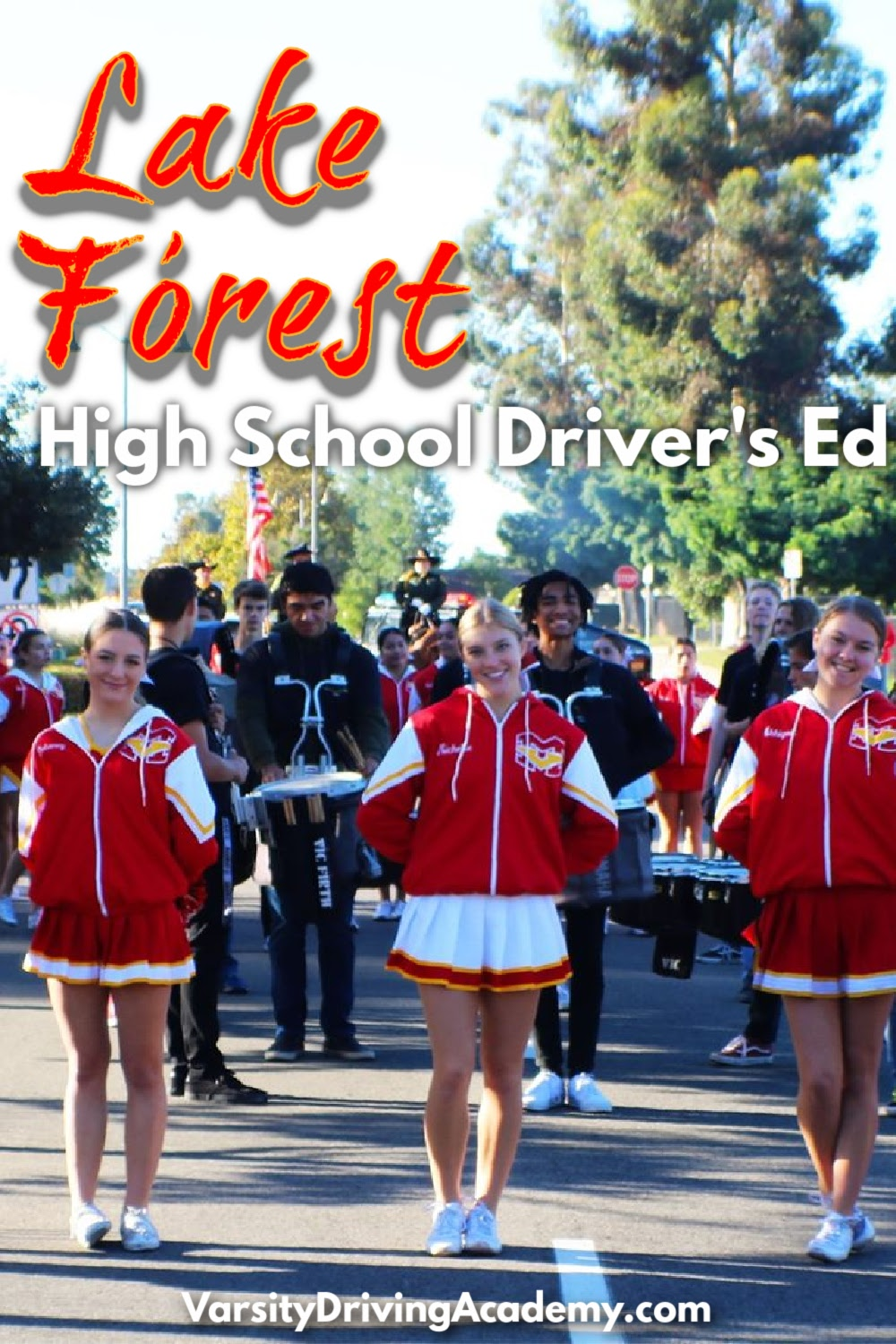 The best Lake Forest high school drivers ed is Varsity Driving Academy where teens learn how to drive at the best driving school in Lake Forest.