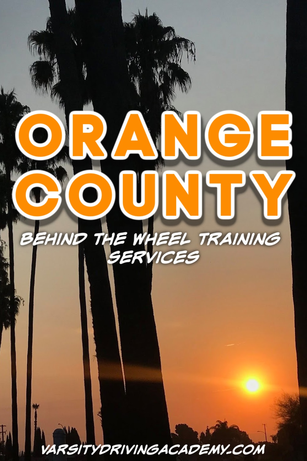 Orange County behind the wheel training should prepare you for safe driving, passing the driving test, and most importantly how to drive defensively.