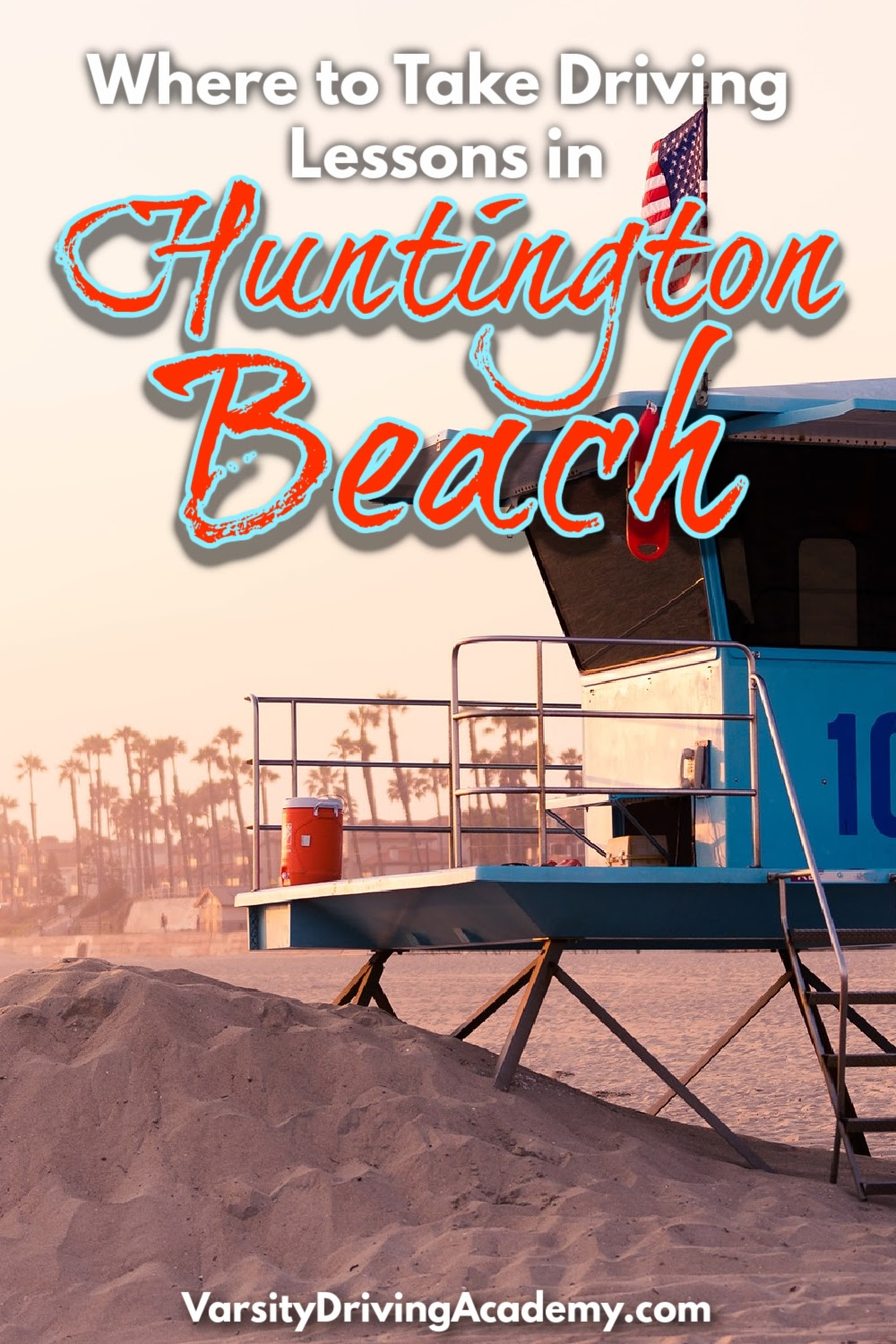 Knowing where to take driving lessons in Huntington Beach is only the beginning of the process you need to pass to get a driver's license.