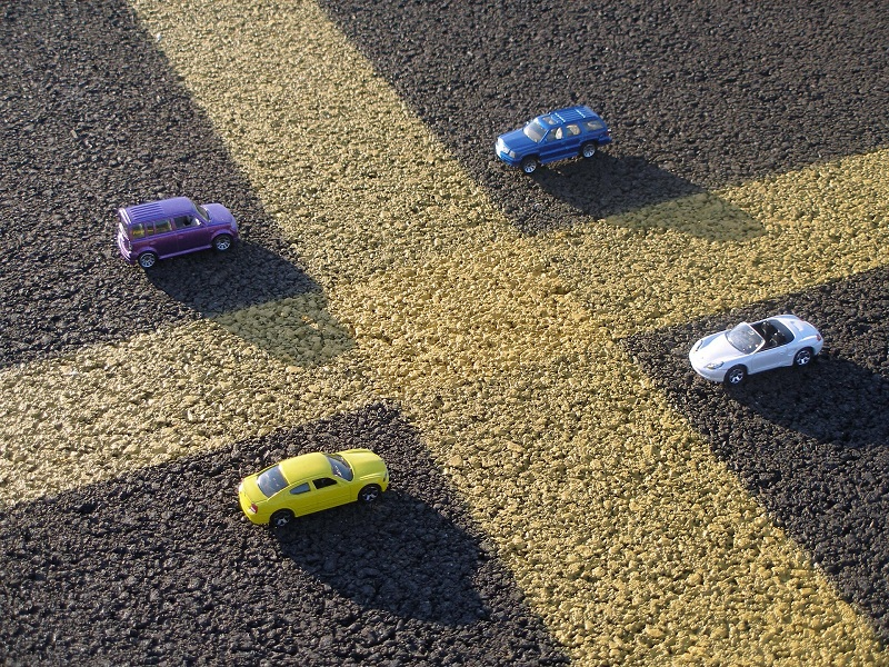 Where to Practice Driving in Costa Mesa Toy Cars in a Parking Lot