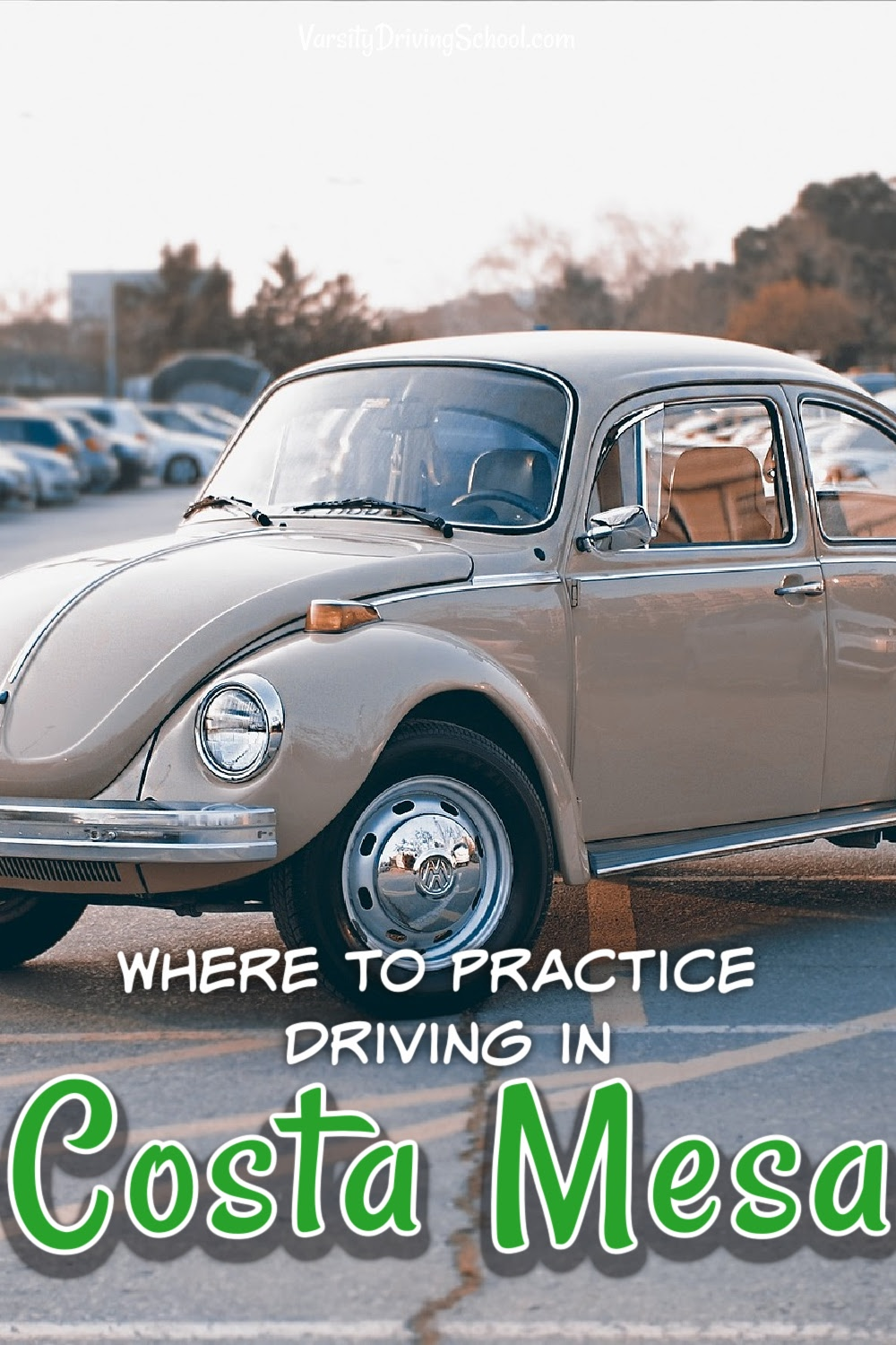 Costa mesa students must know where to practice driving in Costa Mesa that will give them space to learn safely without endangering others.