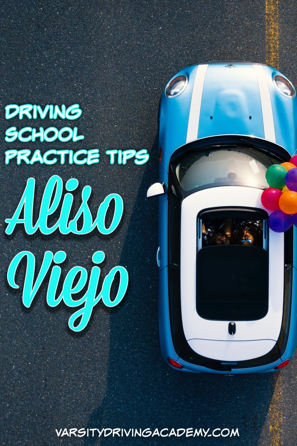 Aliso Viejo driving school practice tips can help you get a feel for driving around in a safe and defensive way.