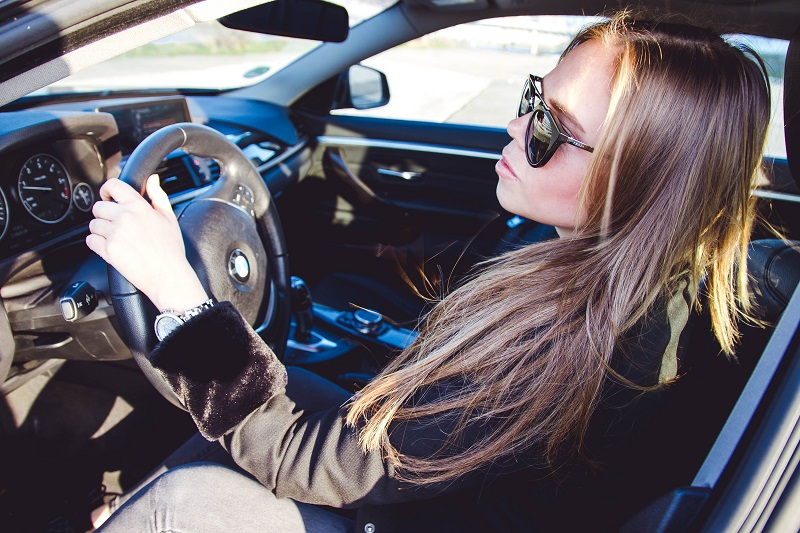 Tips Your Teen is Ready to Drive Alone Person Sitting Behind the Wheel