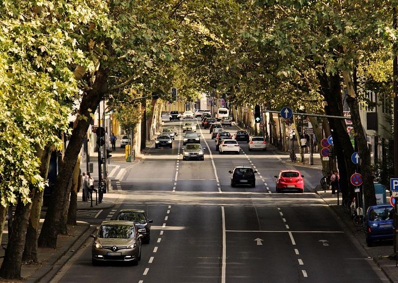 Failed Driver Test Tips Cars on a City Road