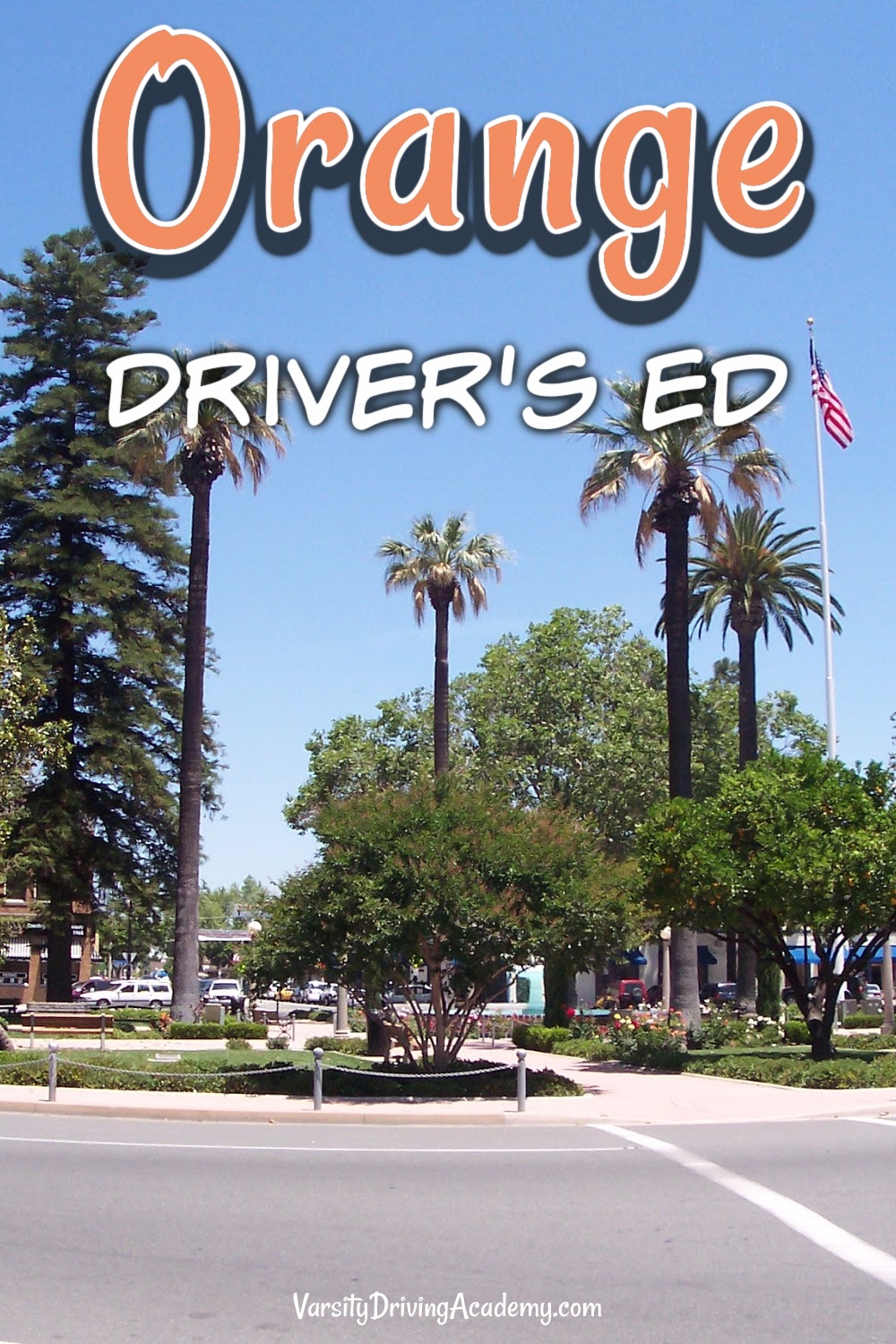 Varsity Driving Academy is prepared to teach students how to drive defensively and safely as the best Orange drivers ed.