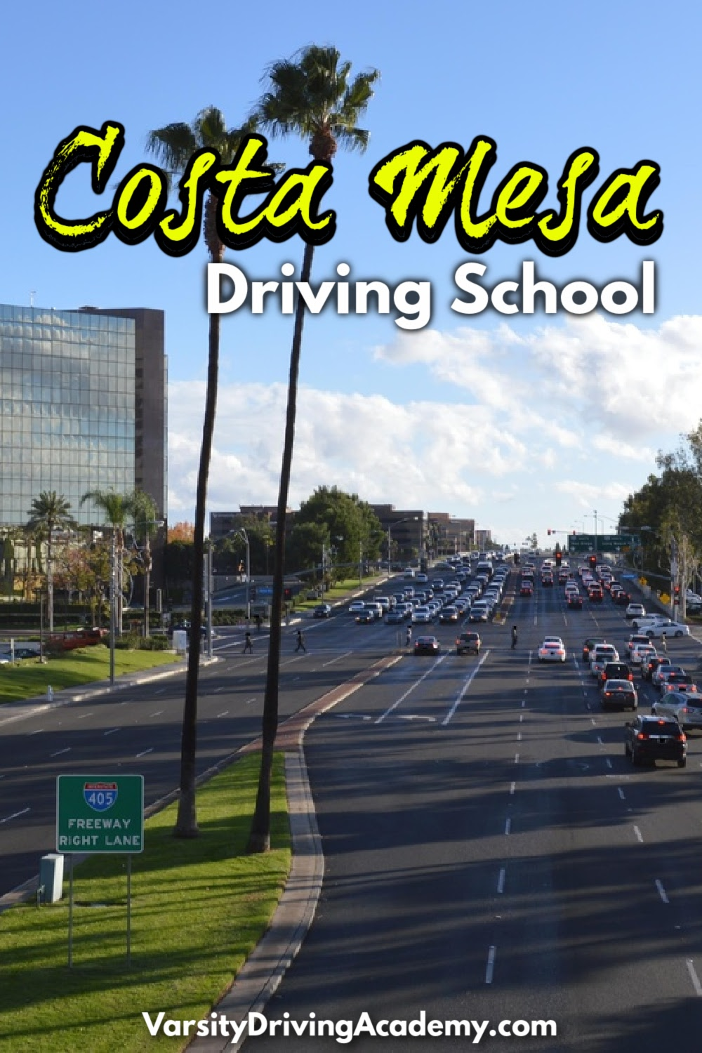 Varsity Driving Academy is the best Costa Mesa driving school where students learn how to drive safely and confidently.