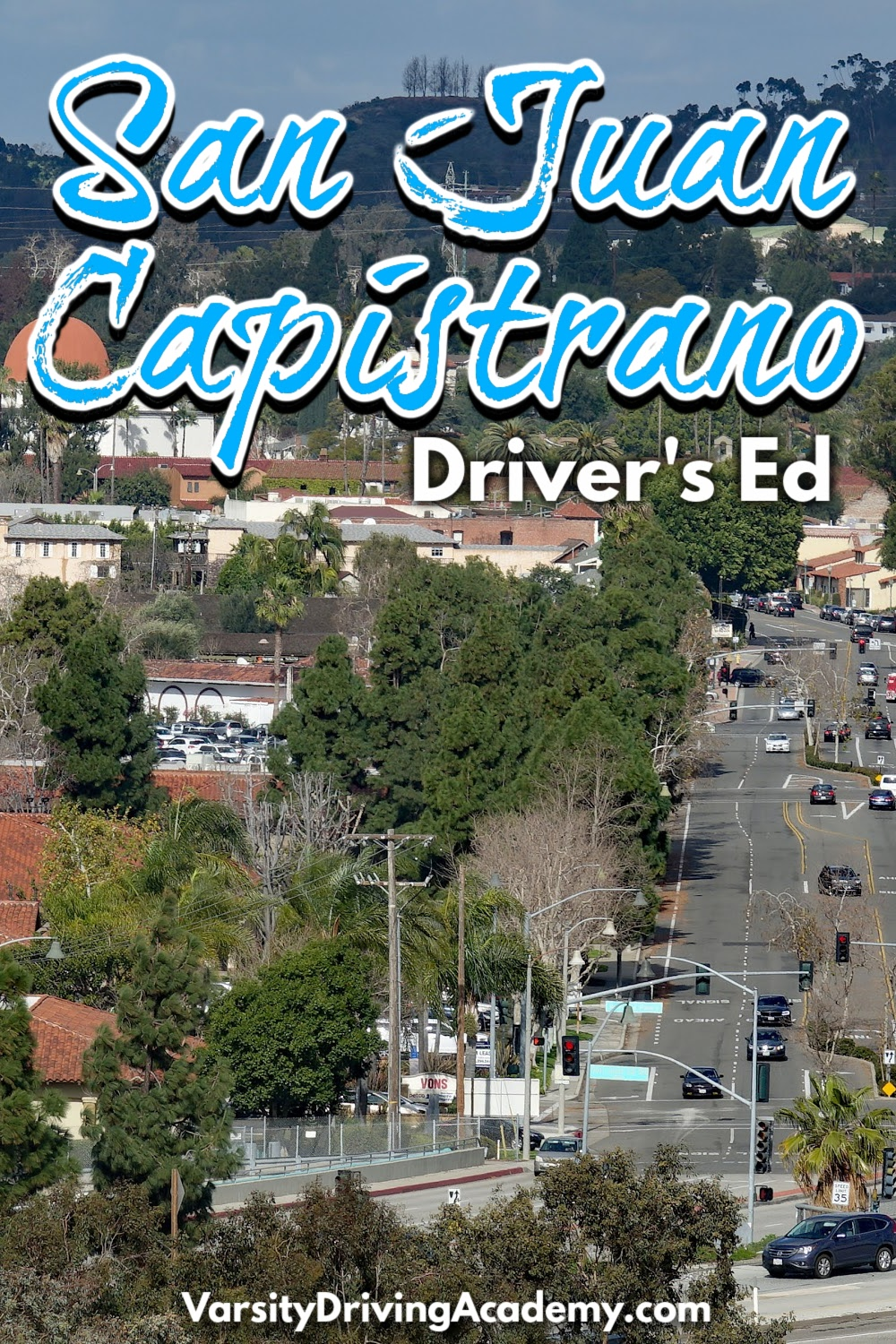 Teens and adults can sign up for the best San Juan Capistrano drivers ed at Varsity Driving Academy to learn how to drive safely.