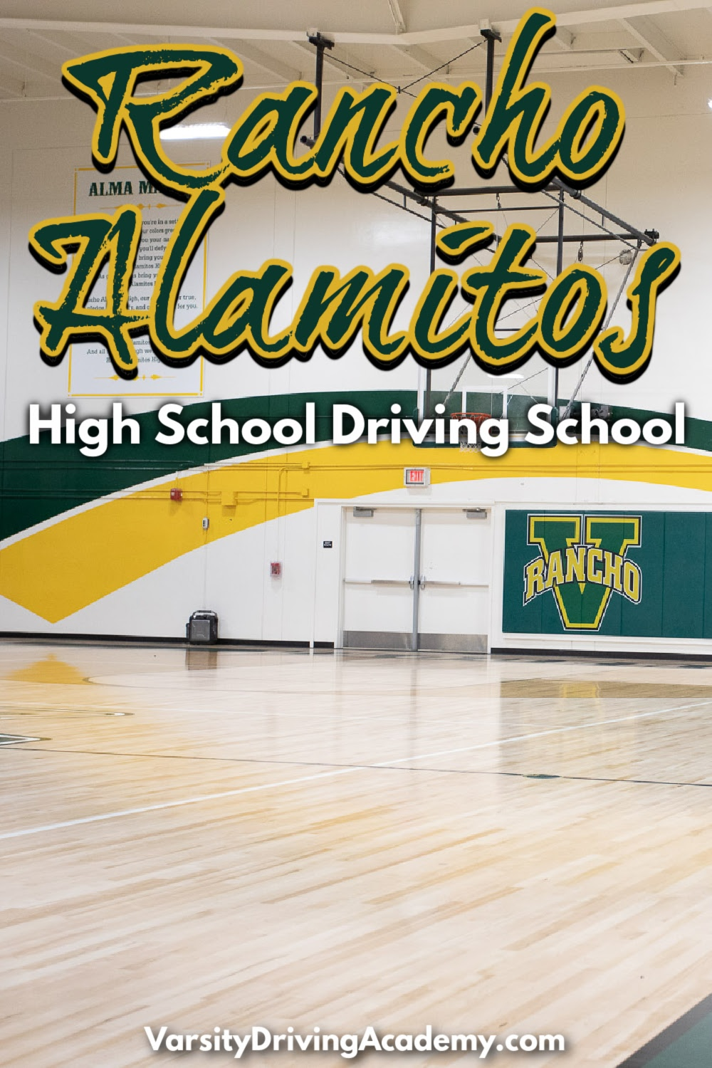 Varsity Driving Academy is the best Rancho Alamitos High School driving school option for students to learn how to drive safely.