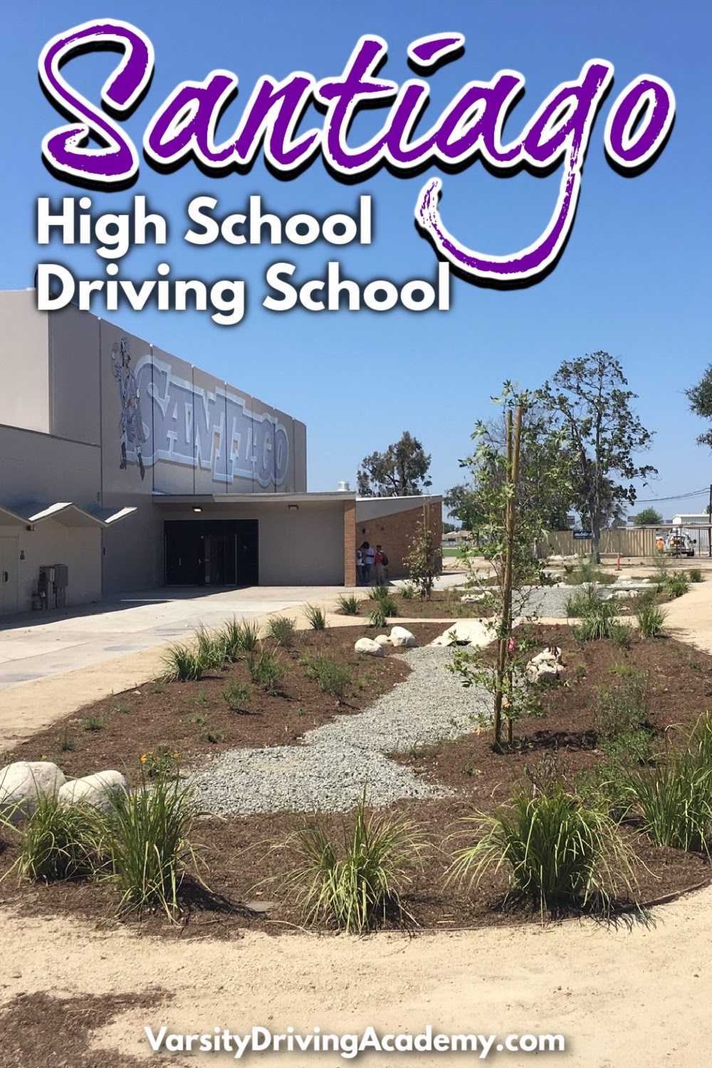 The best Santiago High School driving school is Varsity Driving Academy where success is the goal and safety is the priority.