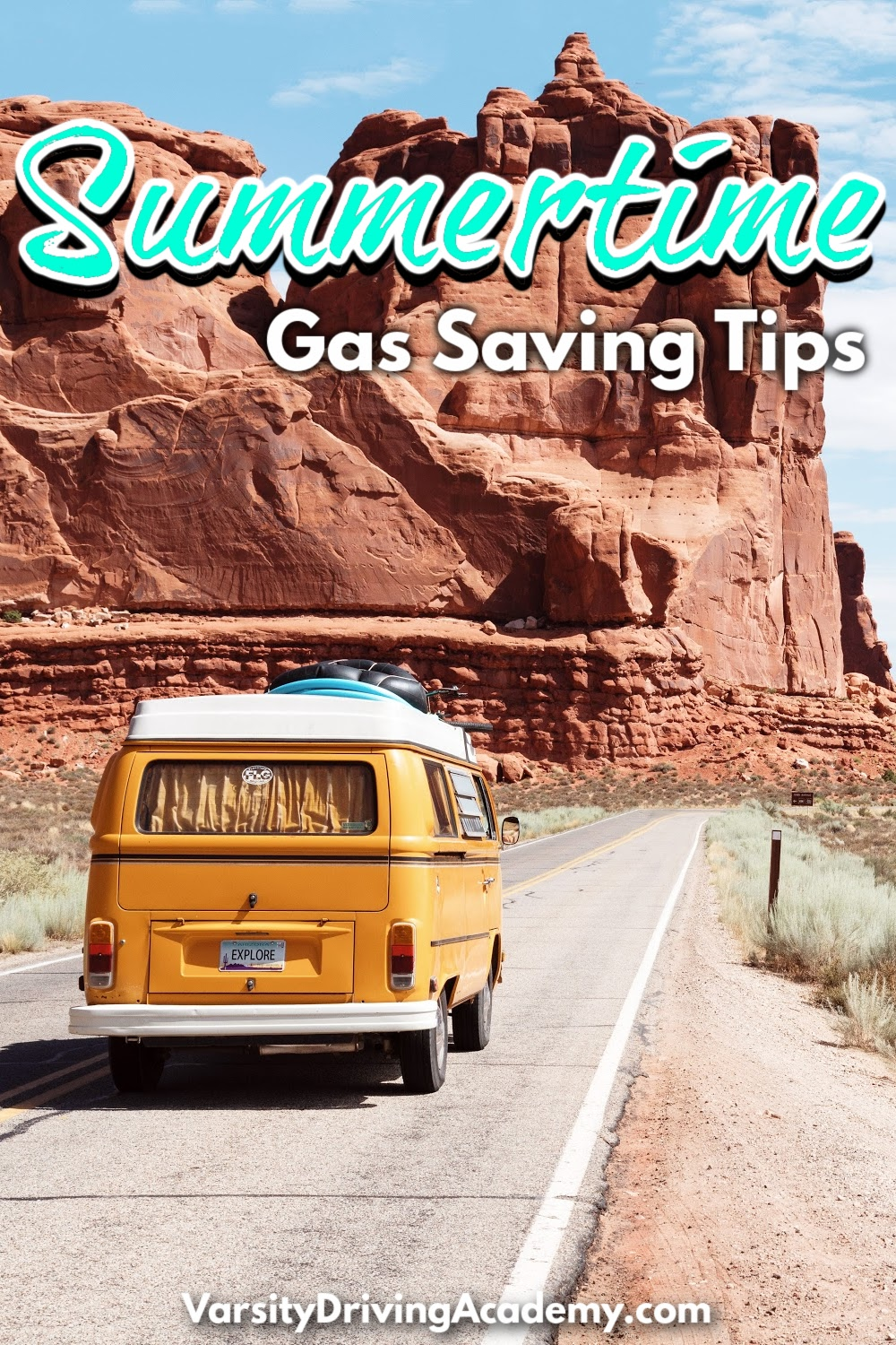 Summertime gas saving tips can help you save money while still enjoying your summer by going out and having fun.