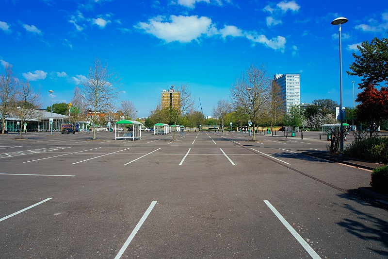 Where to Practice Driving in Laguna Hills An Empty Parking Lot