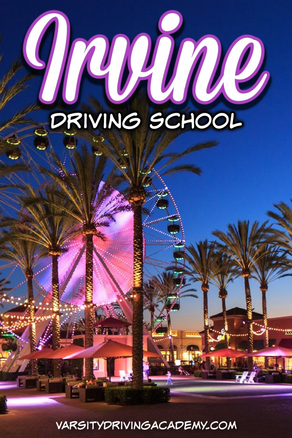 Varsity Driving School is the #1 rated Irvine Driving School for many reasons and in many locations. Find out if your High School is on our list.