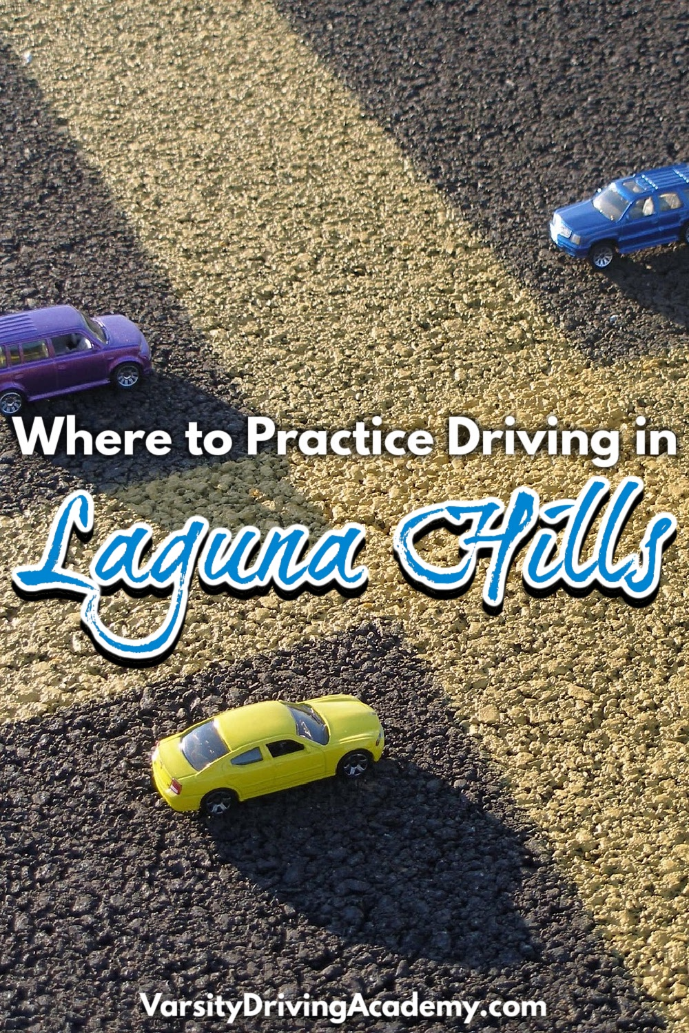 Knowing where to practice driving in Laguna Hills allows you to get ready to pass the driving test at the DMV.