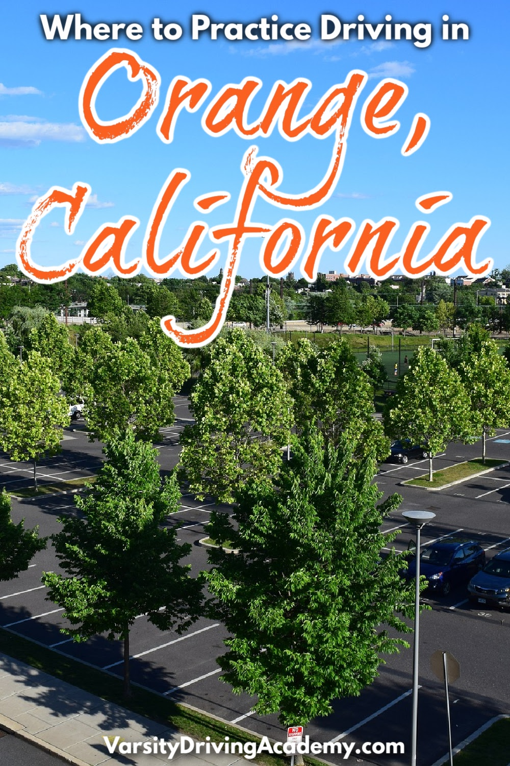 Knowing where to practice driving in Orange California is a great starting point to study for the final test at the DMV.