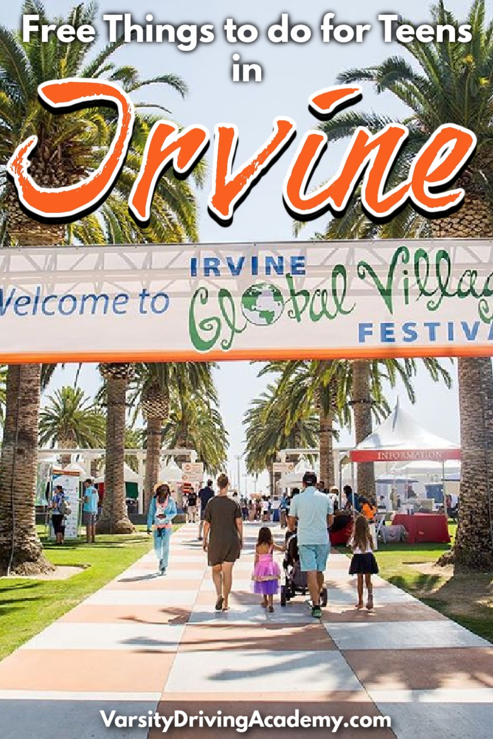 There are so many things for teens to do in Irvine and a lot of the best things to do are free for everyone to enjoy.