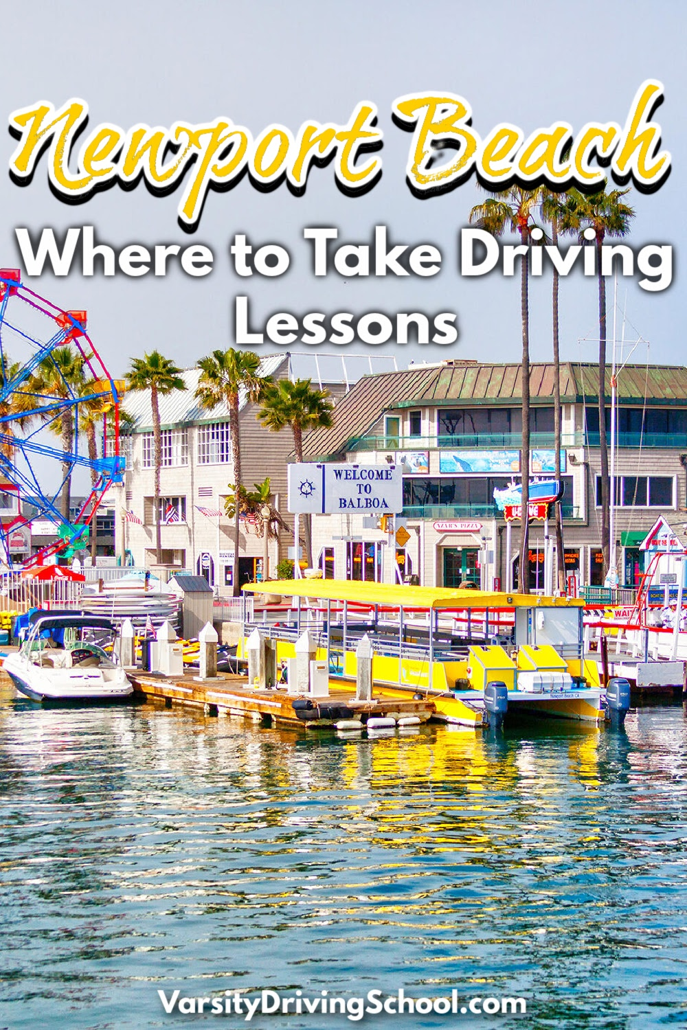 Varsity Driving Academy is where to take driving lessons in Newport Beach to ensure you get the best driving school in Orange County experience.