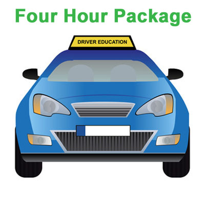 Four Hour Package - California Driving School