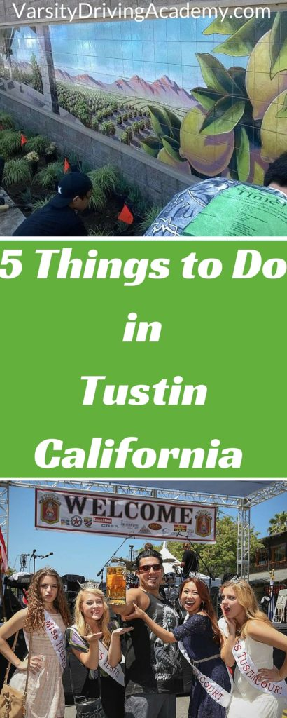 There are many different things to do in Tustin California that help make it one of the top 25 places to live in the world.