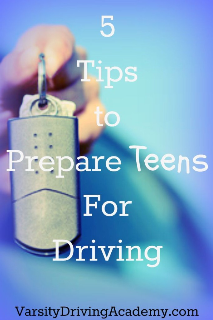 5 Tips to Prepare Teens For Driving