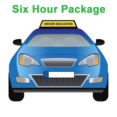 Six Hour Package - Driving School in Orange County