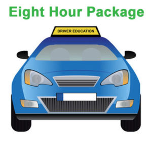 Eight Hour Package - Drivers Education