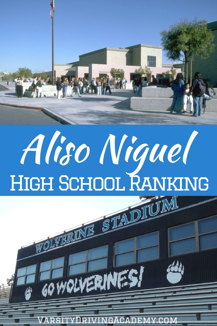 Aliso Niguel High School has a ranking that compares to other top schools in California and it's a viable option for students in Orange County.