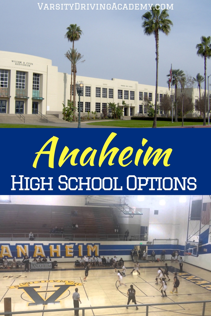 Where you live within the Anaheim high school boundaries will determine which high schools your teen or teens can attend.