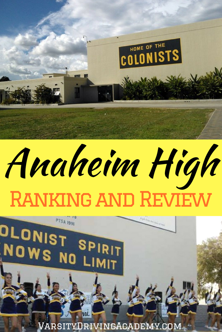 When parents know the Anaheim High School ranking, they are better prepared for what is to come for their teens and their future.