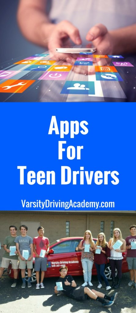 Many parents fear the use of a smartphone by their teens while driving, using apps for teen drivers turns that same tech into a tool.