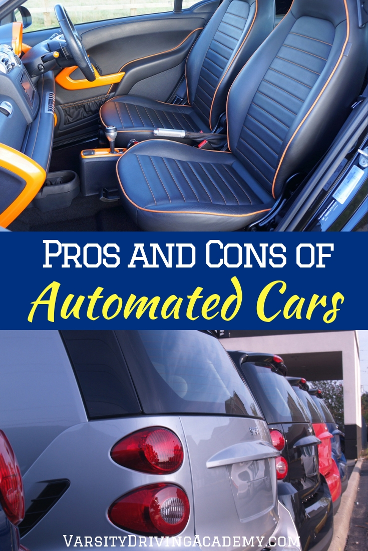 The best pros and cons of automated vehicles for new drivers could help you make a decision when buying your first car or smart car.