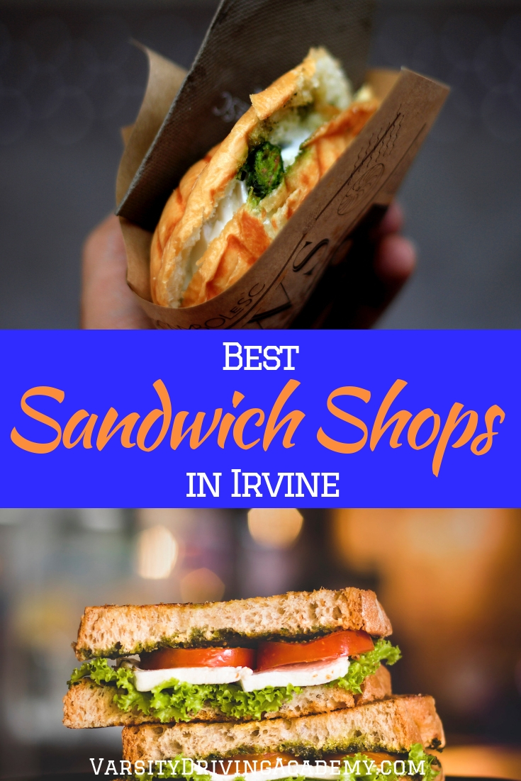 There are more than a few awesome sandwich shops in Irvine and it is your duty to try each one as often as possible.