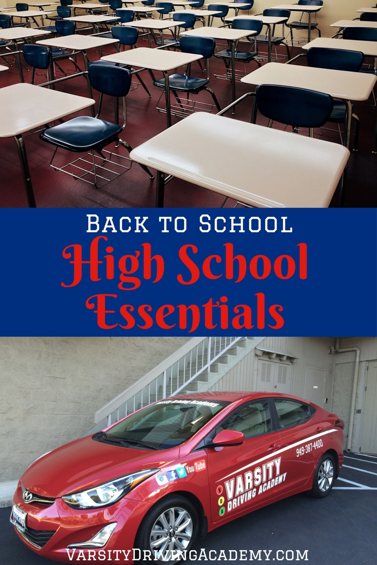 When you know which items are high school essentials, school shopping becomes a lot easier than you originally thought it would be.