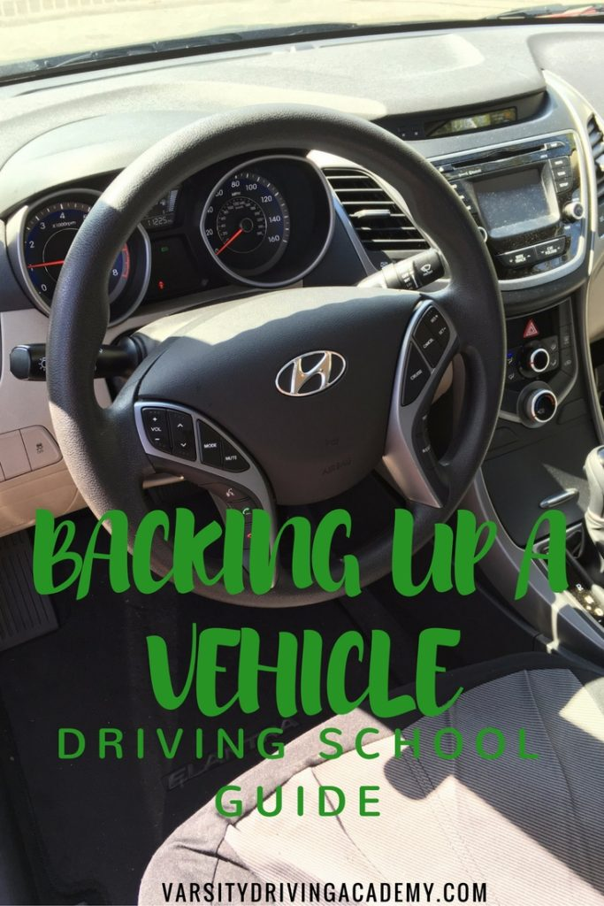 To move forward, we sometimes need to go backward, that's why it's important to know what you're doing when backing up a vehicle.